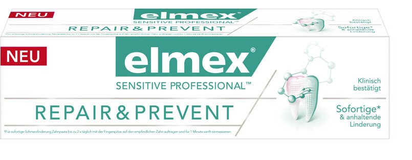 elmex® SENSITIVE PROFESSIONALTM Repair & Prevent Zahnpast