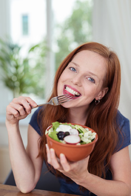 Vegetarier-Zahngesundheit (Foto: Contrastwerkstatt - Fotolia)