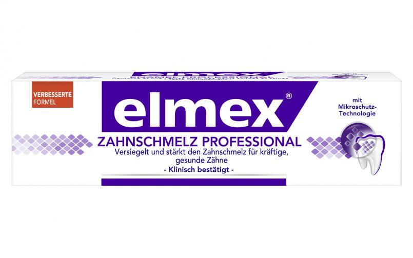 elmex® ZAHNSCHMELZ PROFESSIONAL Zahnpasta (c) CP GABA